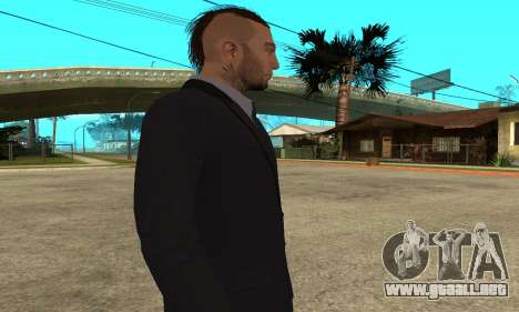 Mens Look [HD] para GTA San Andreas quinta pantalla