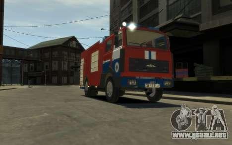 MAZ 533702 el Ministerio de situaciones de emerg para GTA 4 left