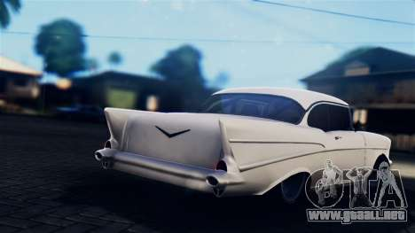 Chevrolet Bel Air 1957 FF Style para GTA San Andreas left