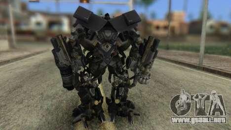 Ironhide Skin from Transformers v2 para GTA San Andreas tercera pantalla
