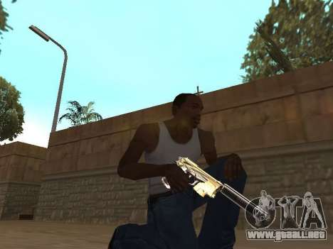 Chameleon Weapon Pack para GTA San Andreas