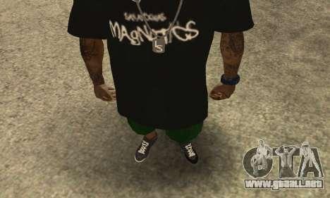 Groove St. Nigga Skin The Third para GTA San Andreas segunda pantalla