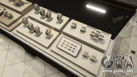 GTA 5 El robo de una joyería v0.2 tercera captura de pantalla