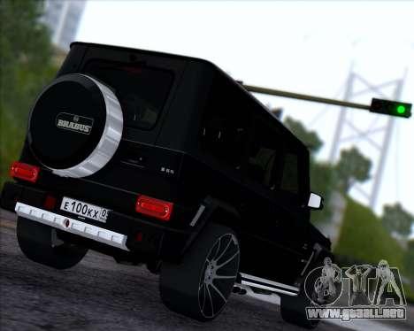 Brabus B65 Angry para la visión correcta GTA San Andreas