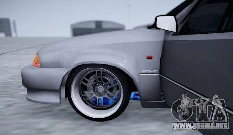 Daewoo Nexia 2006 para la vista superior GTA San Andreas