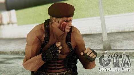 Jack Krauser Skin from Resident Evil para GTA San Andreas