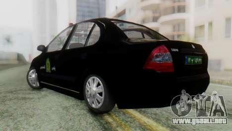 SAIPA Tiba Police v1 para GTA San Andreas left