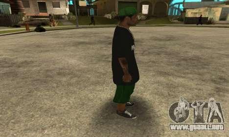 Groove St. Nigga Skin The Third para GTA San Andreas sucesivamente de pantalla