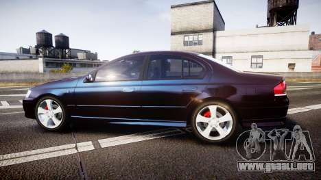Ford Falcon XR8 2004 Unmarked Police [ELS] para GTA 4 left