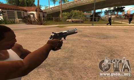 Deagle White and Black para GTA San Andreas