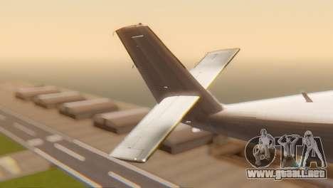 DHC-6-300 Twin Otter para GTA San Andreas vista posterior izquierda