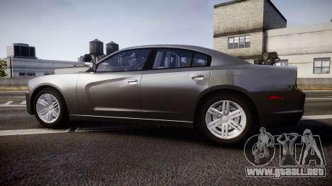 Dodge Charger Traffic Patrol Unit [ELS] rbl para GTA 4 left