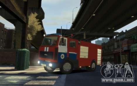 MAZ 533702 el Ministerio de situaciones de emerg para GTA 4