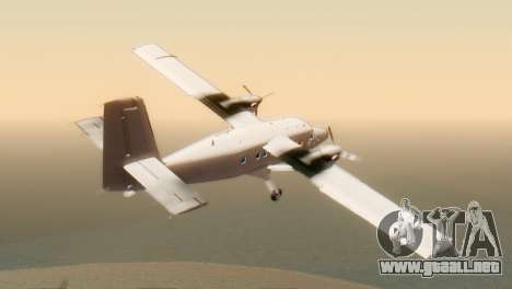 DHC-6-300 Twin Otter para GTA San Andreas left