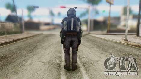Star Wars Repulic Commando 2 Jango Fett para GTA San Andreas segunda pantalla