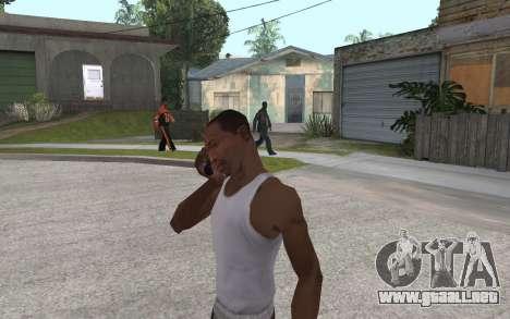 Auricular para GTA San Andreas tercera pantalla