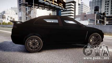 GTA V Karin Kuruma Armored satin paint para GTA 4 left