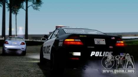 GTA 5 Vapid Police Interceptor v2 IVF para vista inferior GTA San Andreas