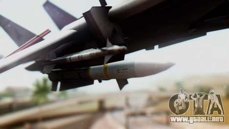 F-14D VF-2 Bounty Hunters para la visión correcta GTA San Andreas