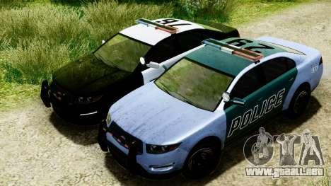 GTA 5 Vapid Police Interceptor v2 IVF para visión interna GTA San Andreas