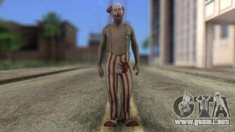Zombie Clown from Left 4 Dead 2 para GTA San Andreas
