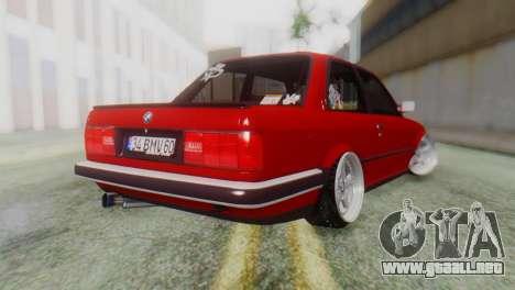 BMW M3 E30 B. O. de la Construcción para GTA San Andreas left
