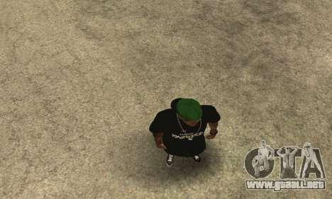 Groove St. Nigga Skin The Third para GTA San Andreas quinta pantalla