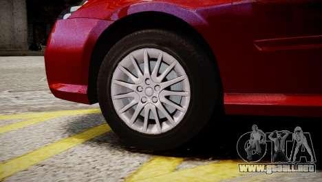Renault Laguna III.1 Estate para GTA 4 Vista posterior izquierda