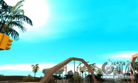 Perfect Weather and Effects for Low PC para GTA San Andreas quinta pantalla