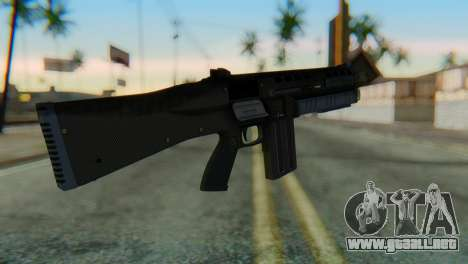 Assault Shotgun GTA 5 v1 para GTA San Andreas segunda pantalla