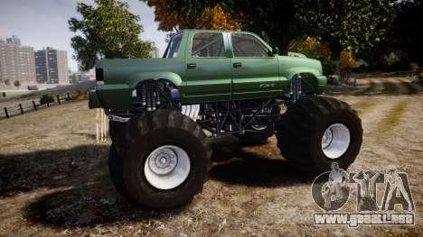 Albany Cavalcade FXT Monster Truck para GTA 4 left