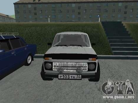 VAZ 2121 Niva para GTA San Andreas left