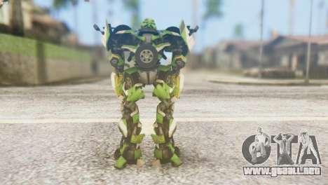Ratchet Skin from Transformers v2 para GTA San Andreas tercera pantalla