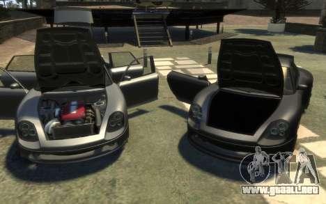 Pfister Alterego para GTA 4 vista interior