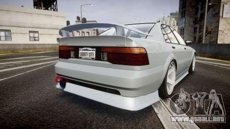 Maibatsu Vincent 16V Sport para GTA 4 Vista posterior izquierda