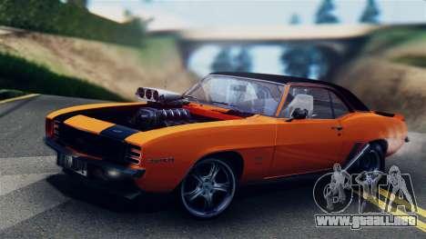 Chevrolet Camaro SS Dragster para GTA San Andreas