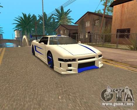 Infernus Piel para GTA San Andreas