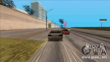 COP Plus para GTA San Andreas tercera pantalla