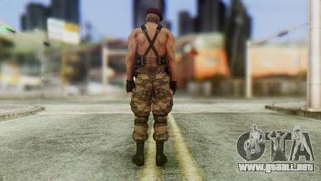 Jack Krauser Skin from Resident Evil para GTA San Andreas tercera pantalla