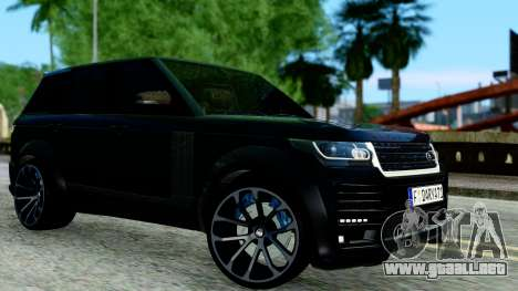 Range Rover Vogue Lumma Stratech para GTA San Andreas left