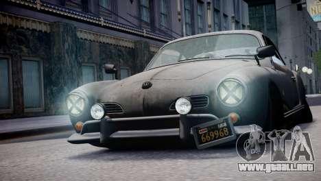 Volkswagen Karmann Ghia 67 (Slammed Rat) para GTA 4