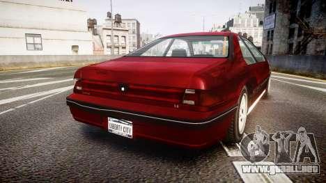 Vapid Fortune Beater para GTA 4 Vista posterior izquierda