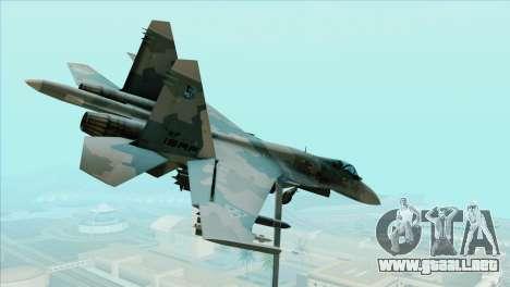 Sukhoi SU-35BM Mobius Squadron para GTA San Andreas left