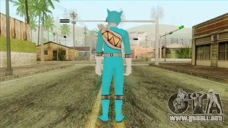 Power Rangers Skin 1 para GTA San Andreas segunda pantalla