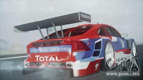 Volvo S60 Racing para GTA San Andreas left