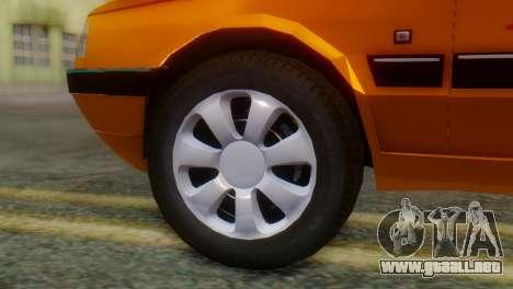 Peugeot 405 Slx Taxi para GTA San Andreas vista posterior izquierda