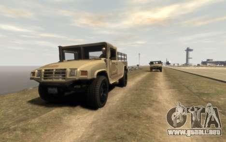 GTA 5 Millitary Patriot para GTA 4