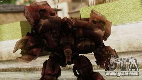 Watpath Skin from Transformers para GTA San Andreas