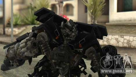 Ironhide Skin from Transformers v2 para GTA San Andreas