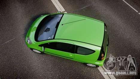 Citroen C1 2011 para GTA 4 visión correcta